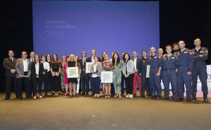 La gala de los premios EL COMERCIO 2019, en imágenes