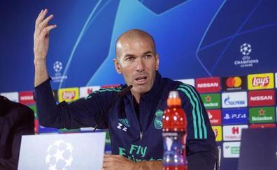 Zidane lamenta que el Madrid tirase la primera parte