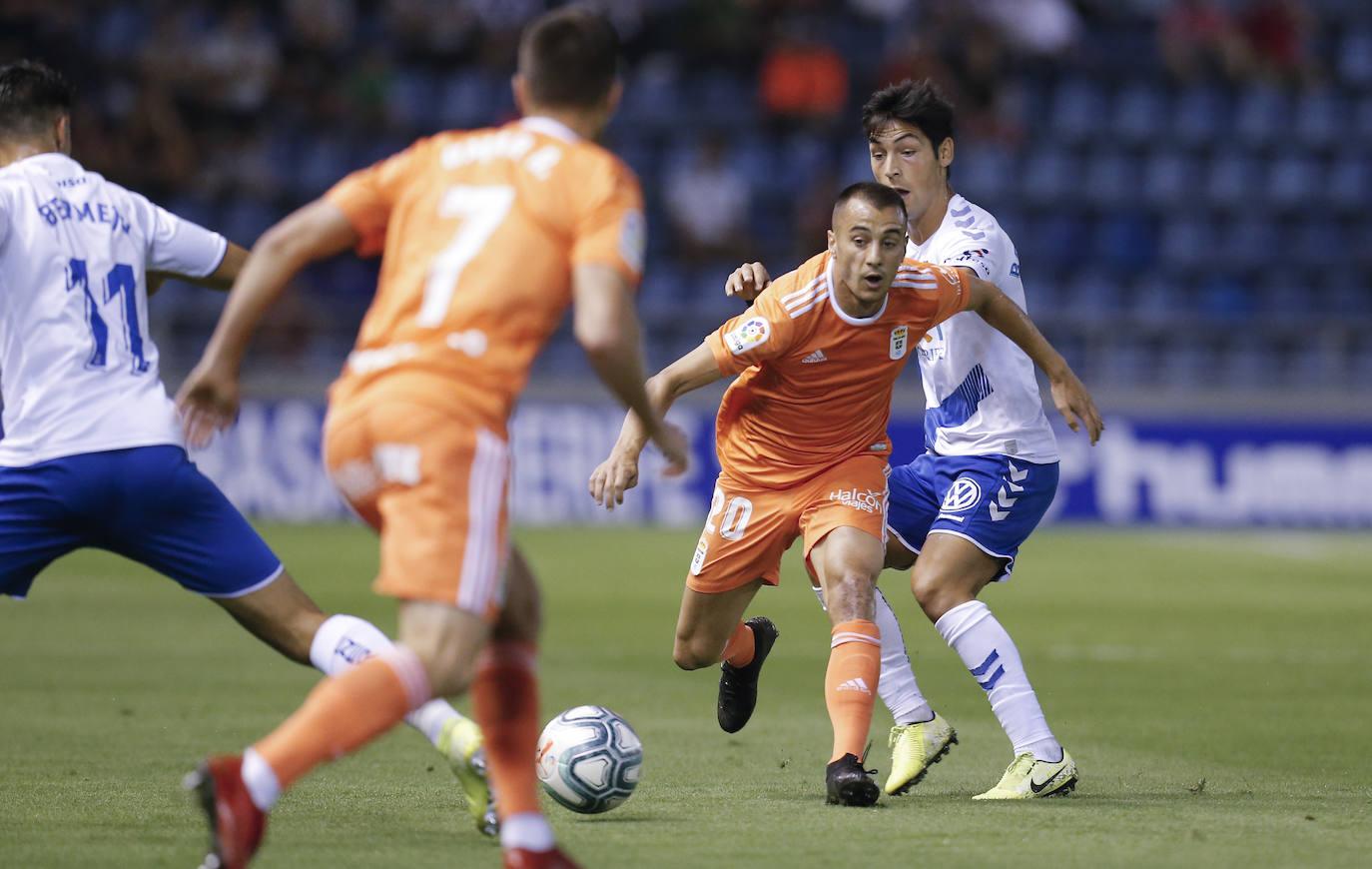 Bárcenas le da la primera victoria de la temporada al Oviedo (0-1)