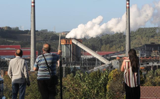 La crisis del acero lleva a Arcelor a ejecutar la mayor parada en Asturias de la última década