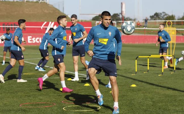 Sporting   Djurdjevic no afloja el ritmo