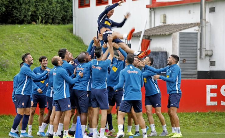 Entrenamiento del Sporting (02-10)