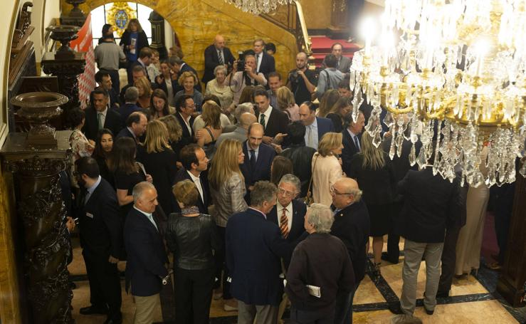 En imágenes, los asistentes a la gala de los premios EL COMERCIO 2019