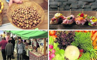 Las citas gastronómicas de los próximos días en Asturias