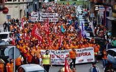 Las Cuencas se vuelcan con los trabajadores de Vesuvius