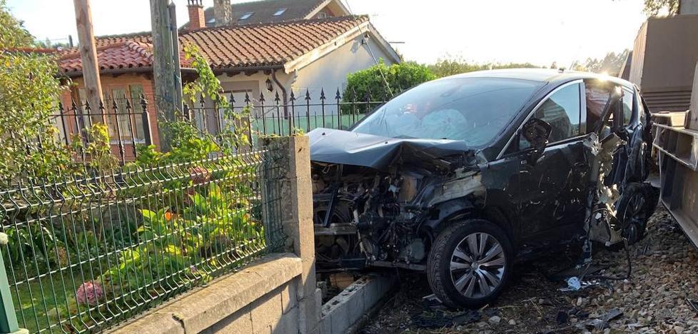 Un tren arrolla un coche en la localidad llanisca de Quintana