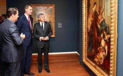 El Rey da su apoyo a la Fundación Cristina Masaveu en el estreno de su sede en Madrid