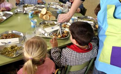 La mayoría de los menús escolares no respeta las cantidades recomendadas de los grupos de alimentos