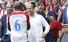 Sporting - Almería   Babin: «Aquí no se revienta ni a mi prima»