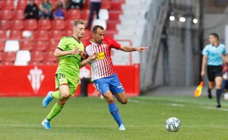 Sporting 4 - 2 Almería, en imágenes