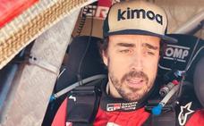 Los problemas con una rueda hacen sufrir a Fernando Alonso en Marruecos