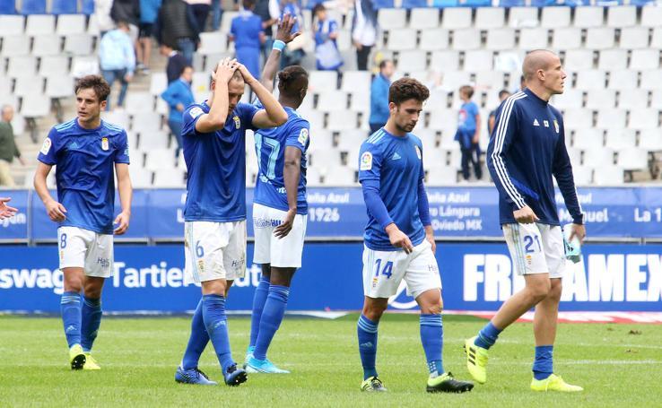 Real Oviedo 1-1 Numancia, en imágenes