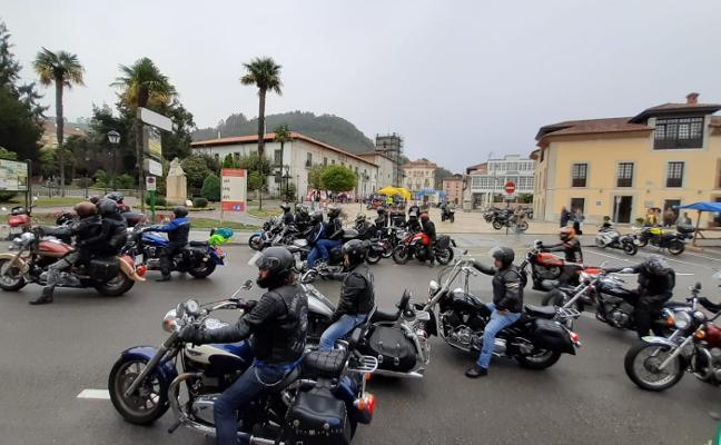 Las motos solidarias rugen en Pravia
