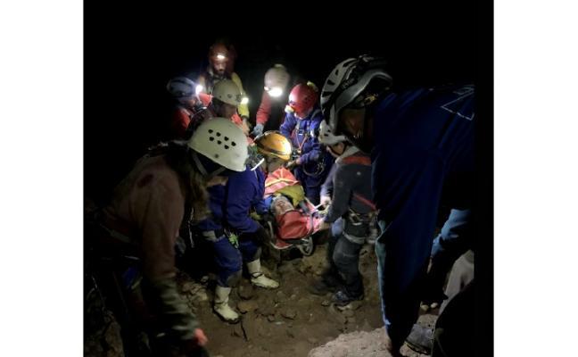 Rescates seguros bajo tierra
