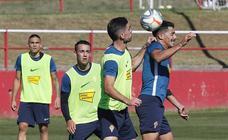 Entrenamiento del Sporting (07-10-2019)
