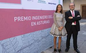 Fernando Alonso Cuervo y Lucía García Linares, ingenieros del año en Asturias