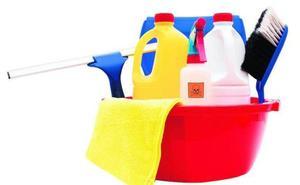 Limpiar con lejía puede contaminar el aire del interior de la casa