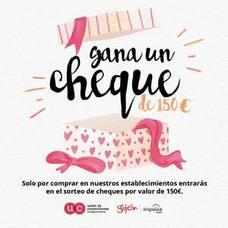 Gran actividad de promoción en el comercio de Gijón
