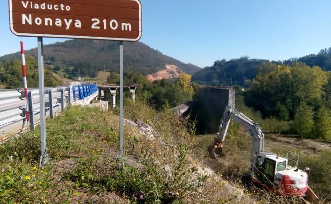 Fomento inicia las obras de la segunda calzada del tramo Salas-La Espina