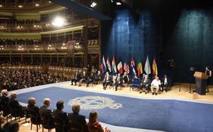 Los galardonados con los Premios Princesa empezarán a llegar a Asturias el 14 de octubre