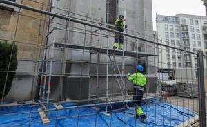 La iglesia de Santo Tomás prepara la primera fase de restauración de la fachada