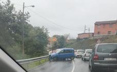 Una persona resulta herida en un accidente de tráfico en Overo