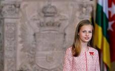 Leonor debuta en los Premios