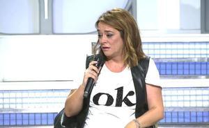 Toñi Moreno abandona el plató de 'MYHYV' tras creer que María Teresa Campos había muerto