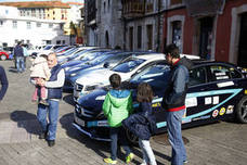 El Campeonato de Coches Eléctricos de Asturias celebra el sábado en Avilés su segunda prueba
