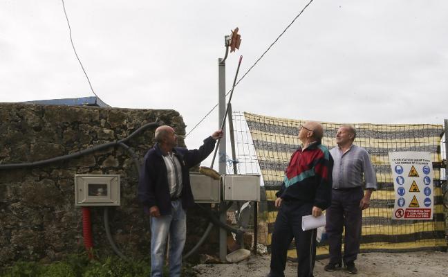 Vecinos de Landia reclaman desde julio la reposición de un espejo de seguridad vial