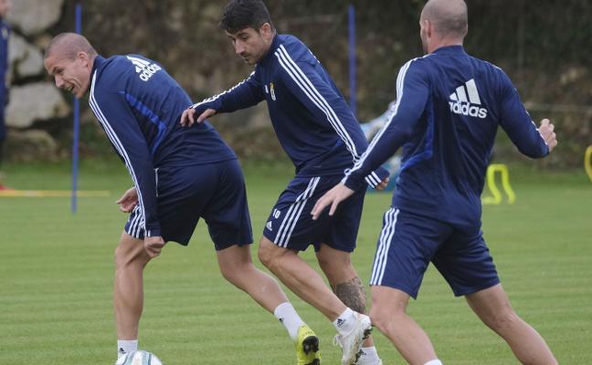 «Como futbolista, tener a la afición del Oviedo de tu lado es lo mejor que hay»
