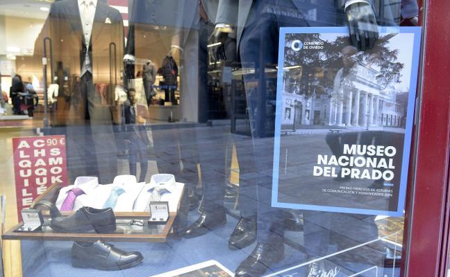 Premios Princesa de Asturias 2019 | Los comercios de Oviedo se visten para los Premios Princesa