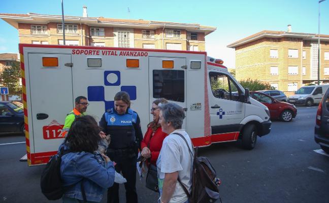 Herida una mujer de 63 años en un atropello en El Pozón