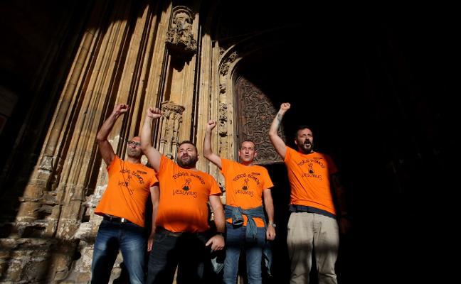 «Nos encerramos en la Catedral por dignidad»