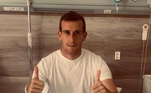 Borja Granda, operado con éxito en Madrid
