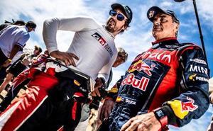 Alonso: «Han sido dos semanas positivas; a ver qué pasa en el Dakar»