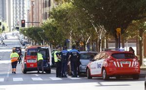 Herida una mujer de 84 años tras ser atropellada en Gijón