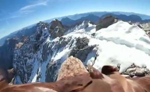 El deshielo de los Alpes visto desde los ojos de un águila