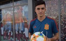 Manu García se estrena como titular con España Sub 21