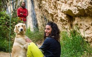 María Rivaya y Pablo Ochoa, una pareja con la montaña como «telón de fondo»