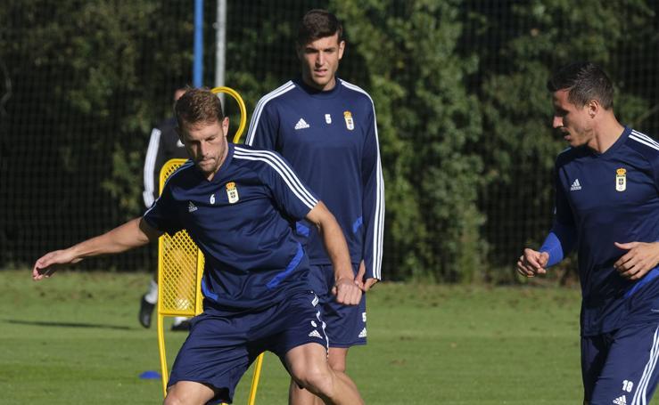 Entrenamiento del Real Oviedo (10-10-2019)