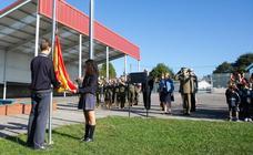 El Palacio de Granda celebra los 176 años de la bandera de España