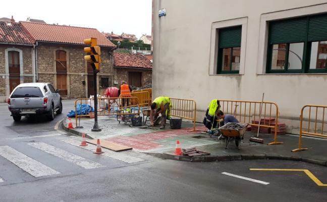 Corvera culmina ochenta obras para eliminar barreras arquitectónicas