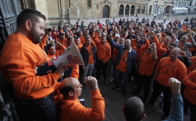 Vesuvius rechaza hacer inversiones que eviten el cierre de la planta de Langreo