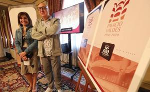 El Teatro Palacio Valdés moderniza su logotipo por su centenario