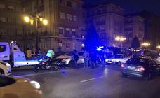 La Policía persigue a un coche fugado en Oviedo