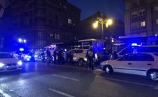 Espectacular persecución policial en Oviedo