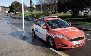 Un conductor ebrio y otro drogado sufren sendos accidentes en Gijón