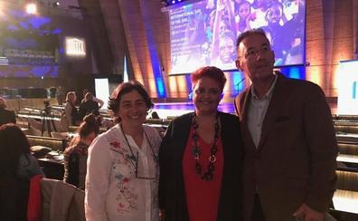 La docente asturiana Marian Moreno, premiada por la Unesco