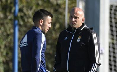 Real Oviedo | Javi Rozada: «Lo extra deportivo no va a afectar al equipo»